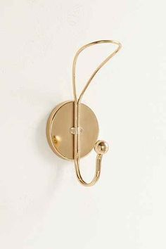 Shop Clara Single Wall Hook at Urban Outfitters today. We carry all the latest styles, colors and brands for you to choose from right here. Decorative Wall Hooks, Decorative Items, Bathroom Towel Decor, Bathroom Ideas, Mirror With Hooks, Entryway Mirror, Apartment Essentials, Towel Hooks, Towel Holder