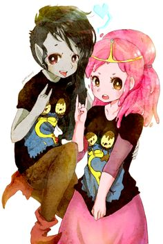 Marceline and PB - Adventure Time