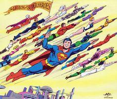 Neal Adams - The Legion of Super Heroes