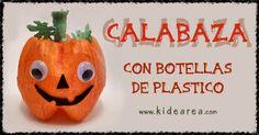 Calabaza hecha con material reciclado. | Manualidades de Halloween, fáciles y para niños http://www.kidearea.com/manualidades-infantiles-halloween-calabaza-botellasdeplastico/ #botellasdeplastico #calabaza #childrencrafts #decoracion #decorativa #fiesta #foam #gomaeva #halloween #kidscrafts #manualidadesinfantiles #manualidadesparaniños #materialreciclado #ojosmoviles #papeldeseda #papelpinocho #pumpkin