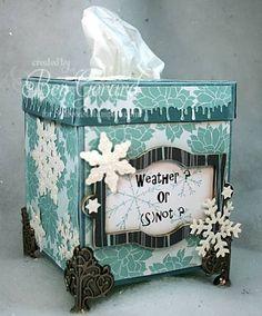 Decorative Tissue Box Cover Fall Tissue Box Cover  Tissue Box Covers  Pinterest  Tissue Box