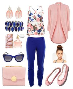 """""""Going to the farmers market"""" by thiessens292 ❤ liked on Polyvore featuring Oasis, NLY Trend, J.Crew, Repetto, M&Co, Guerlain, Marc Jacobs and Thierry Lasry"""