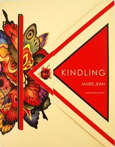 Jean, James. Kindling. Portfolio/bk w/ 12 prints. For Peter $30