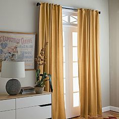 Cotton Twill Window Panels