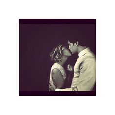 Keegan Allen and Ashley Benson Shoot Down (Our) Dating Rumors Via... ❤ liked on Polyvore featuring ashley benson and couples