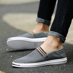 Summer Breathable Men Shoes Espadrilles