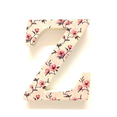 Wooden Floral LettersR Gift Floral Letters Prettytwisted
