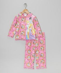 Take a look at this Pink Princess Ruffle Pajama Set - Infant & Toddler by Disney on #zulily today!