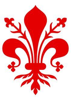 File:Fleur de lis of Florence.svg