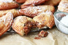 Deep Fried Pecan Pies! Oh. My. Gosh! Drooling! Recipe gold! Why didn't I ever think of this?! Mmm Mmm Mmmm!