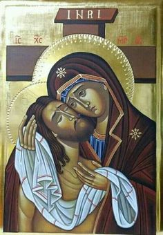 Jesus Christ and Holy Mother Religious Pictures, Religious Icons, Religious Art, Greek Icons, Spiritual Paintings, Blessed Mother Mary, Mary And Jesus, Byzantine Icons, Madonna And Child