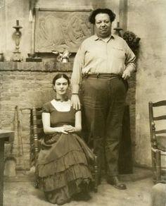Frida Kahlo & Diego Rivera. Mexican legends, probably best left un photographed.