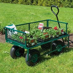 The Draper Tools Garden Mesh Cart Can Be Used On Various Terrains Thanks To  The Oversize Air Inflated Wheels. The Coated Steel Mesh Is Strong And  Durable ...