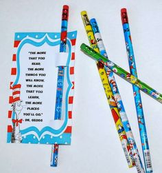 The Moody Fashionista: Dr. Seuss Day Classroom Treats