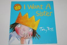 I Want a Sister book