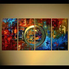 Peinture sur toile par Osnat sur commande 60 x par OsnatFineArt