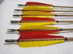 How to Create Arrows from Dowels