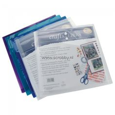 Buy two (2) Scrapbook opberger 12x12