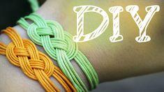 |DIY| Knoten-Armband - Seemannsknoten - Trossenstek - schnell & einfach