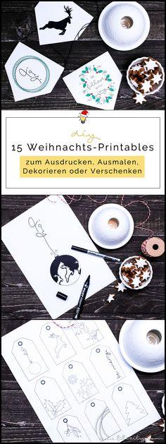DIY Weihnachtsdeko (Wimpel & Bilder) und Geschenk-Anhänger – Printables zum Ausmalen mit PILOT Pen   Filizity.com   DIY-Blog aus dem Rheinland #pilot #pilotkreativ #pilotpen #printable #weihnachten