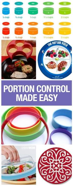 Control your portions with these 10 fabulous products.