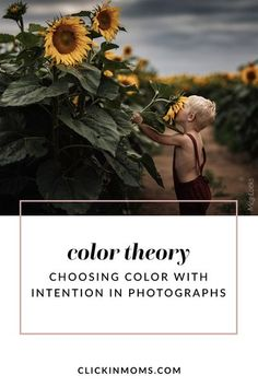 Color is a powerful tool in photography. Clickin Mom Mentor Meg Loeks illustrates how and why to choose colors to guide your viewers and tell a story. #photography #clickinmoms