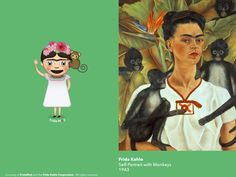 Frida Kahlo's Many Self Portraits Are Now Emoji, Or Rather, FridaMoji | The Huffington Post