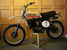 Before Bombardier made touring bikes with training wheels and wave runners, they actually made some nasty two-stroke motocrossers like this 1975 Can-am Motocross bike.