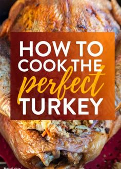 How to cook the perfect turkey. If you're looking on how to make turkey dinner, … Advertisements How to cook the perfect turkey. If you're looking on how to make turkey dinner, this is the post for you. Cooking The Perfect Turkey, Cooking Turkey, Cooking Eggs, Cooking Pasta, Cooking Rice, Cooking Pork, Cooking Utensils, Easy Cooking, Thanksgiving Dinner Recipes