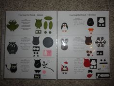 Owl Punch Cards, Paper Punch Art, Owl Card, Stampin Up, Craft Punches, Card Making Techniques, Scrapbook Cards, Scrapbooking Layouts, Paper Cards