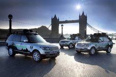 Maiden Hybrid Range Rover Models Cruising through 'Silk Trail' to India  #car #cars #RangeRover #LandRover #news