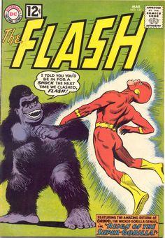 Gorilla Grodd - Call of the Wild: 10 Greatest Animals in Comics