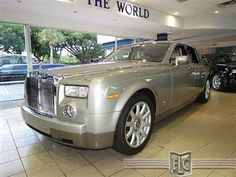 Buy or bid on this 2004 Rolls-Royce Phantom at: http://fortlauderdale-south.ebizautos.com/detail-2004-rolls~royce-phantom-4dr_sdn-used-10228963.html  This Phantom is in truly excellent condition, and it runs and drives like a new car. Of course, it should, it has just over 13,600 miles on it. And what a drive it is. 453hp, 531 lb-ft of torque, and 0-60 in under 6 seconds.