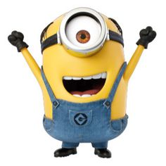 The Minions - Mel - Excited Despicable Me Memes, Wonder Man, Cute Minions, Minion Party, 3d Character, Spongebob, Superman, Cool Designs, Snoopy