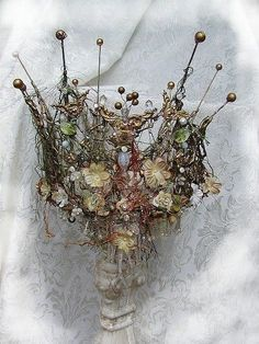 twig and key crown - Google Search