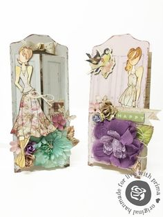 It's all about the paper dolls! Gift tag/bags with Bona Rivera-Tran on Live with Prima-4/23 at 6:30pm PT here: http://www.ustream.tv/channel/primaflower