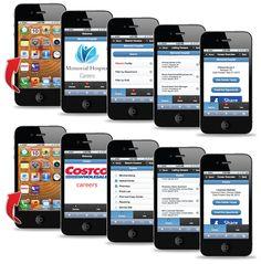 Examples of mobile job board apps developed by CareerTapp. Mechanical Engineering Jobs, Electrical Engineering Jobs, Texas Jobs, Arkansas Jobs, Painter Jobs, Dental Training, Jobs In Florida, Dietitian Jobs, Dental Jobs