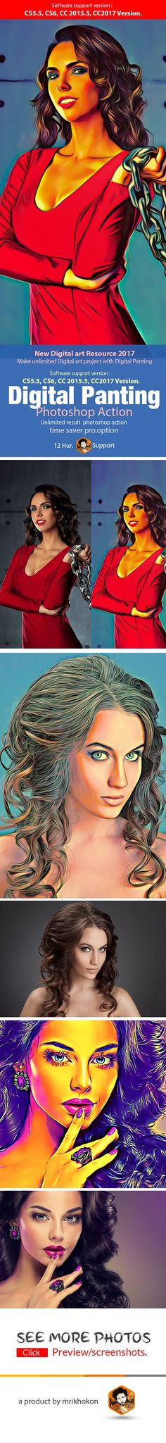 Digital Panting - Photo Effects Actions