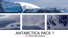 Antarctica Reference Pack by Paul Riebe Norse Projects, Game Assets, Antarctica, Mount Everest, Explore, Mountains, Education, Travel, Image