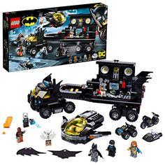 LEGO-La Base Mobile de Batman DC Comics Super Heroes Jeux de Construction 76160 Multicolore Lego Batman, Batman Batcave, Batman And Batgirl, Superhero, Lego Marvel, Batman Toys For Kids, Batman Logo, Marvel Avengers, Kids Toys
