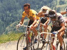 Bernard Hinault - Bernard Hinault © Presse Sports - Tous droits réservés Bernard Hinault Le champion le plus titré du cyclisme français s'est imposé dès sa première participation en 1978. Vainqueur de quatre autres éditions (79, 81, 82, 85), le Blaireau s'est retiré après le Tour 86, durant lequel il s'est mis au service de son coéquipier, Greg LeMond, premier coureur américain à remporter l'épreuve.