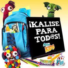 Nuestros peques ya han empezado la guardería o el colegio ¿Cómo han ido los primeros días? ¿Ha sido fácil la entrada?#amigurumis #Kalise #Kids