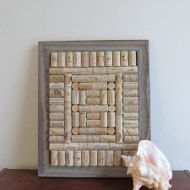 This long red wine cork board is just the thing to help keep your home organized! Hang pictures, notes and appointment cards on the corkboard,