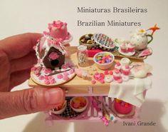 Christmas goodies .. Miniaturas Brasileiras - Brazilian Miniatures