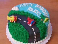 Airplane Birthday Cake5