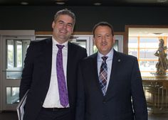 Minister Rickford and FedNor's Mark Wright - Putting the North in FedNor