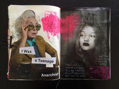 @dansmoncrane | Season of Happy | Get Messy Art Journal