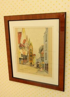 "Seven matching prints depicting scenes from France including Notre Dame, along the Seine River, Normandy and Vienna. Signed ""Engelbert"" , ""R.Duval"", ""Charles Blondini"" , "" Victor Valery"" ranging from 13.5""x11.5"" to 16""x 13"""