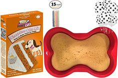 Dog Birthday Party Supplies | Puppy Cake Peanut Butter Dog Cake Mix and Frosting | Dog Bone Silicone Shaped Cake Pan | 6 pack Dog Paws Balloons | Birthday Candles (Styles May Vary) - http://partysuppliesanddecorations.com/dog-birthday-party-supplies-puppy-cake-peanut-butter-dog-cake-mix-and-frosting-dog-bone-silicone-shaped-cake-pan-6-pack-dog-paws-balloons-birthday-candles-styles-may-vary.html