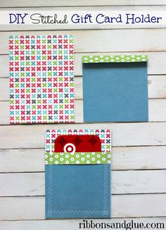 How to make a simple DIY Gift Card Holder